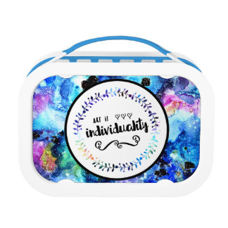 Art is Individuality Lunch Box