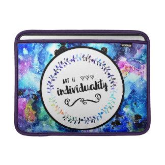 Art is Individuality MacBook Sleeve