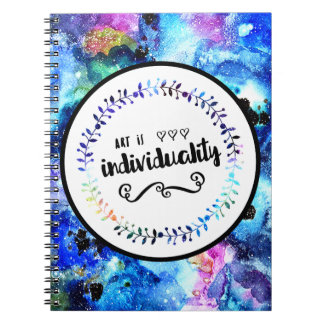 Art is Individuality Notebook
