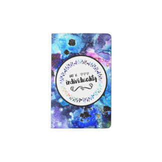 Art is Individuality Pocket Moleskine Notebook