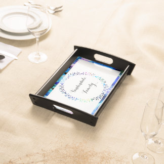 Art is Individuality Serving Tray