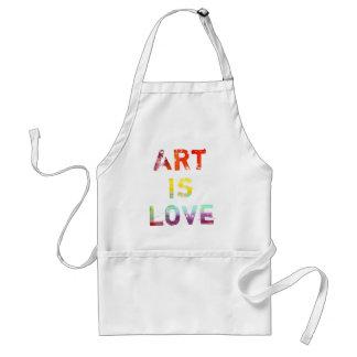 Art Is Love Standard Apron