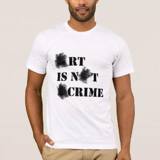 Art Is Not A Crime T-Shirt