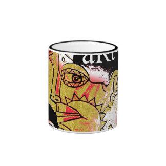art is on my mind ringer coffee mug