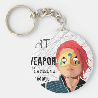 Art is the Weapon Key Ring