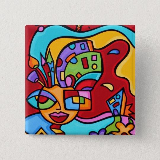 art_lastofredhot_brainpick1 15 cm square badge