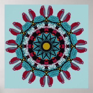 Art Mandala Poster