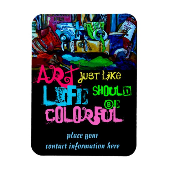 Art Marketing Magnet