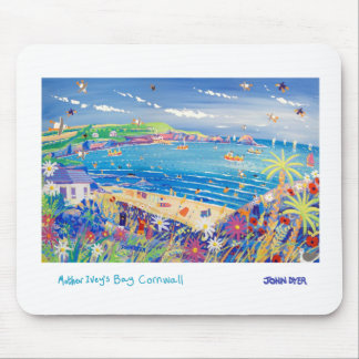 Art Mousemat: Family Fun, Mother Ivey's Bay, Cornw Mouse Pad