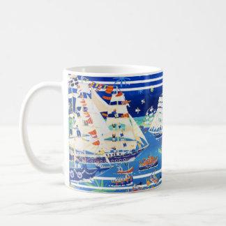 Art Mug: Falmouth Tall Ships Regatta '14 John Dyer Basic White Mug