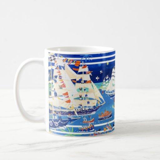 Art Mug: Falmouth Tall Ships Regatta '14 John Dyer