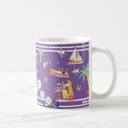 Art Mug: Helford Passage Cornwall. Coffee Mug