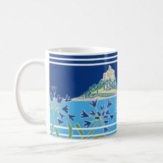 Art Mug Moonlight on the Water St Michael s Mount