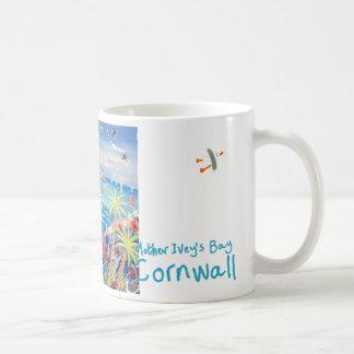 Art Mug: Mother Ivey's Bay Cornwall Basic White Mug