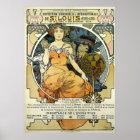 Art Nouveau 1904 World's Fair by Alphonse Mucha Poster