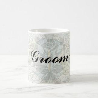 art nouveau abstract ornate pattern coffee mug
