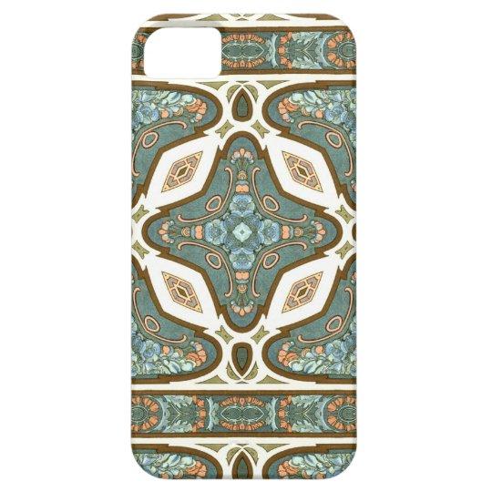 Art Nouveau Alphonse Mucha Vintage Feather iPhone 5
