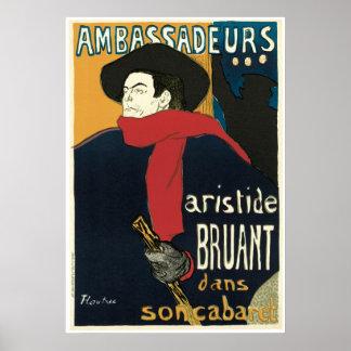 Art Nouveau Ambassadeurs Poster