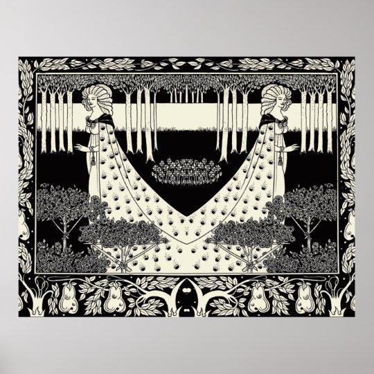 Art Nouveau Aubrey Beardsley Salome Poster
