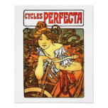 Art Nouveau Bicycle - Alphonse Mucha