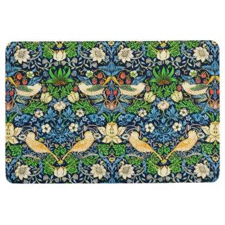 Art Nouveau Bird and Flower Tapestry Pattern Floor Mat
