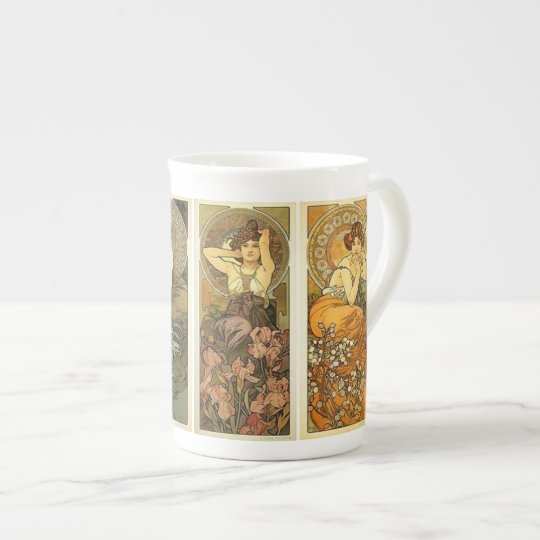 Art Nouveau Bone China Mug