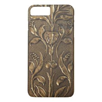 Art Nouveau Brass Pattern Victorian Style iPhone 8 Plus/7 Plus Case