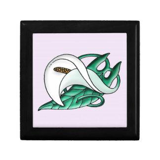 Art Nouveau calla lily Gift Box