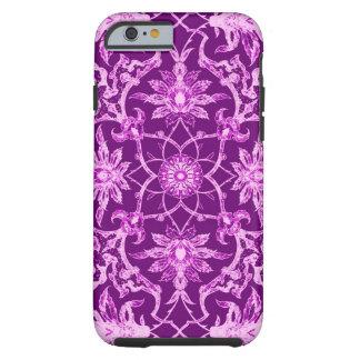 Art Nouveau Chinese Pattern - Amethyst Purple Tough iPhone 6 Case