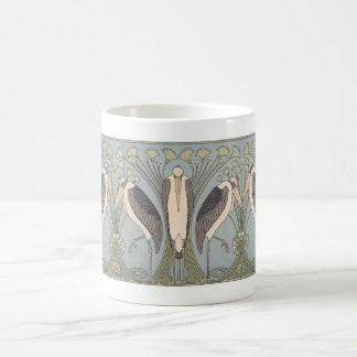 Art Nouveau Crane Mug
