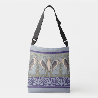 Art Nouveau Crane Tote Bag