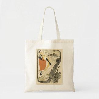 Art Nouveau Dancer Jane Avril, Toulouse Lautrec Budget Tote Bag