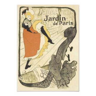 Art Nouveau, Dancer Jane Avril, Toulouse Lautrec Cards