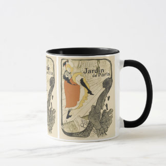 Art Nouveau Dancer Jane Avril, Toulouse Lautrec Mug