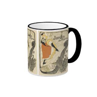 Art Nouveau, Dancer Jane Avril, Toulouse Lautrec Mug