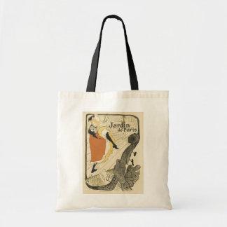 Art Nouveau Dancer Jane Avril, Toulouse Lautrec Tote Bag