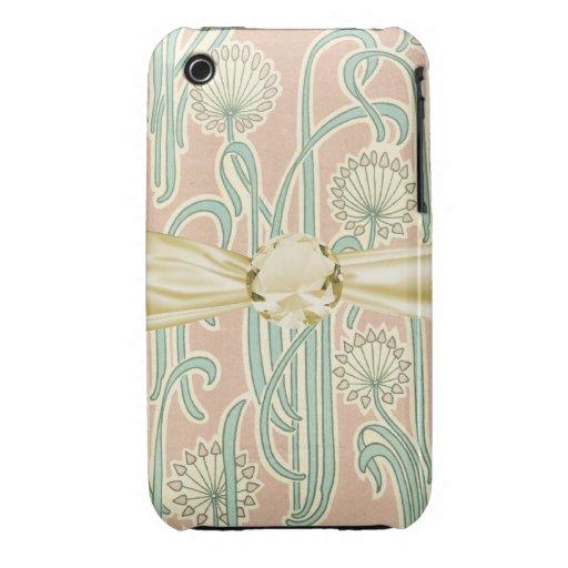 art nouveau dandelions art iPhone 3 Case-Mate case