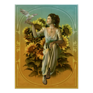 Art Nouveau Daytime Poster