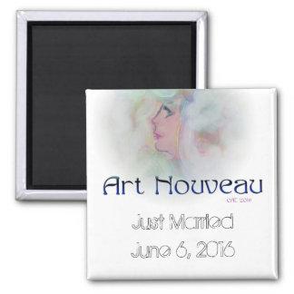 """""""Art Nouveau"""" Design Magnet"""