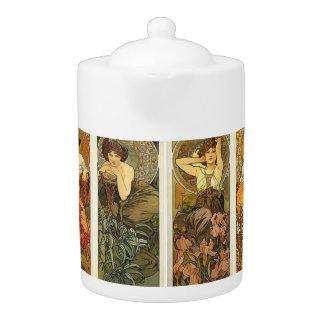 Art Nouveau Design Teapot