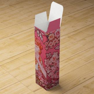 Art Nouveau design Wine Gift Box