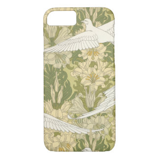 Art Nouveau Doves iPhone 7 Case