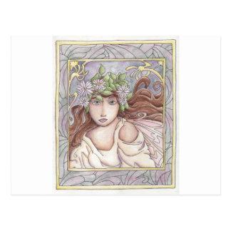 Art Nouveau Fairy Postcard