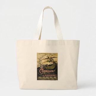 Art Nouveau fairy tale illustration cinderella Tote Bags