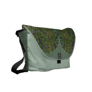 Art Nouveau Floral Abstract Commuter Bag