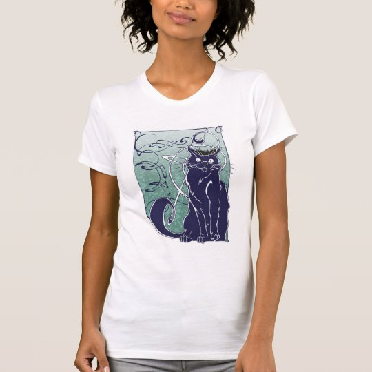 Art Nouveau French Cat Shirt