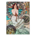 Art Nouveau Goddess Cards