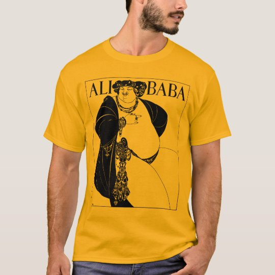 Art Nouveau illustration: Beardsley - Ali Baba T-Shirt