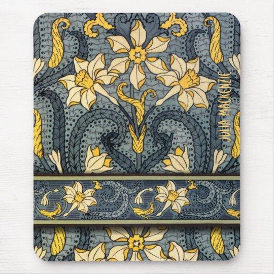 Art Nouveau 'Jonquils' Mouse Mat