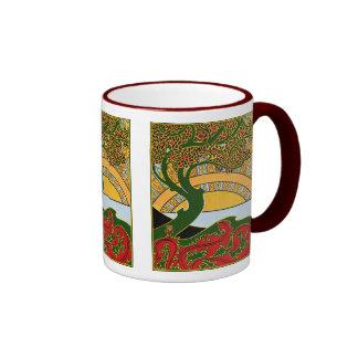 Art Nouveau - La Libre Esthetique by Combaz Ringer Mug